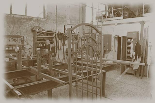 L'antica officina di lavorazione del ferro De Prosperis Roma