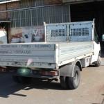 Camion per consegna lavori in ferro