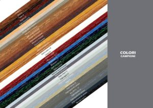 Sistema finestra Raffaello: palette colori